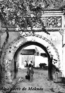 Dossiers spéciaux - Sidi 'Arbi Ibn Sa-ih - Une porte de Meknes - Tidjaniya.com