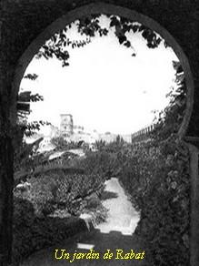 Dossiers spéciaux - Sidi 'Arbi Ibn Sa-ih - Un jardin de Rabat - Tidjaniya.com