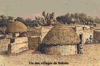 Dossiers spéciaux - Cheikh 'Omar Foutiyou Tall - Un des villages de Sokoto - Tidjaniya.com